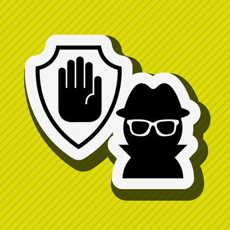 security hand shield